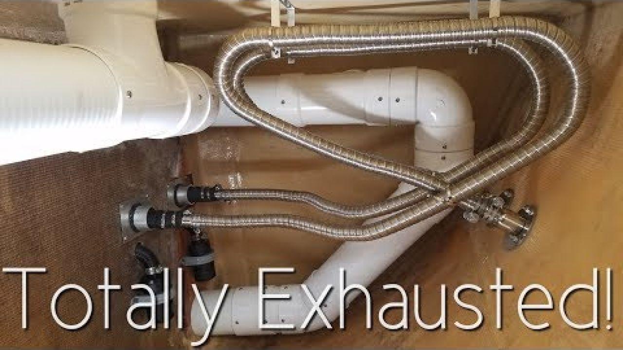 Onboard Lifestyle ep.44 Diesel Heat Exhaust On Our Catamaran!