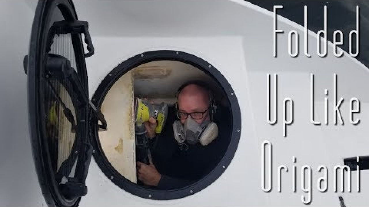 Onboard Lifestyle ep.46 Locker Reveal, Steering & 60 mph Wind!!