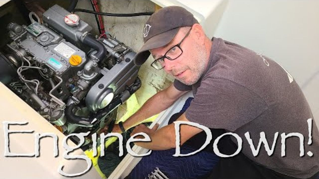 Engine DOWN! Captain is on IT! - Onboard Lifestyle ep.129