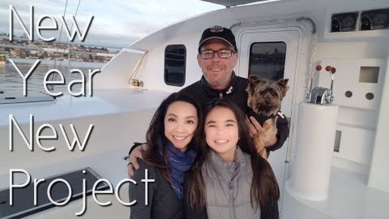 Onboard Lifestyle ep.45 New Year...New Project!