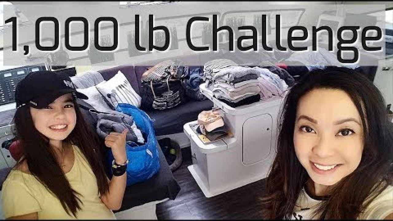 Onboard Lifestyle ep.53 Teal's 1,000 lb Challenge