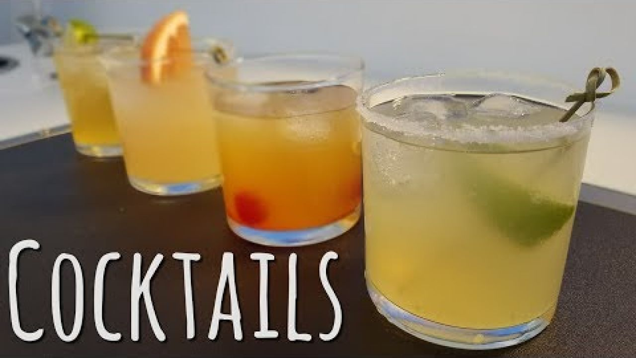 Cooking Onboard: Cocktails