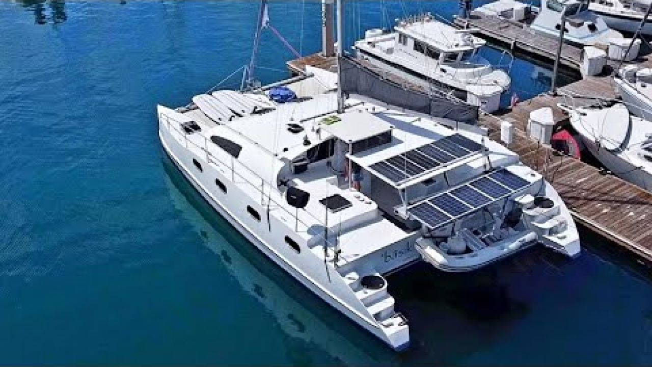 SOLAR Upgrade On Our Catamaran! - Onboard Lifestyle ep.170