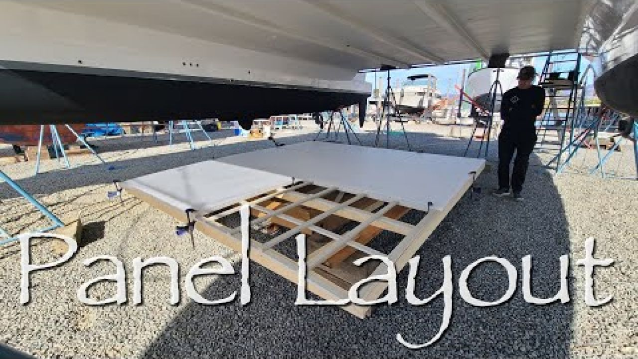 Catamaran HARDTOP Build Part 3 - Onboard Lifestyle ep.137