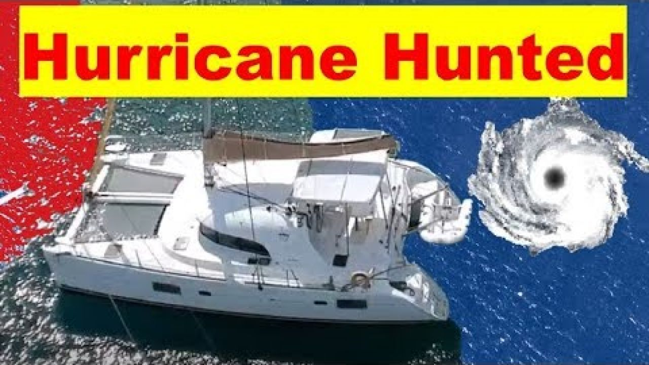 Catamaran found by Florence Hurricane Hunter Air Force Plane, Sailing Across the Atlantic