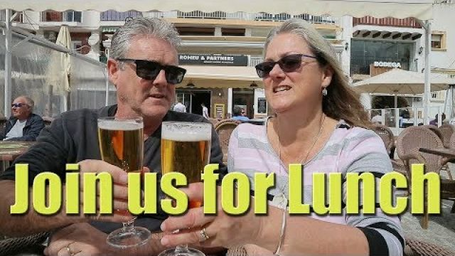 Join us for long lunch musings in Moraira - Sailing A B Sea (Ep.012)
