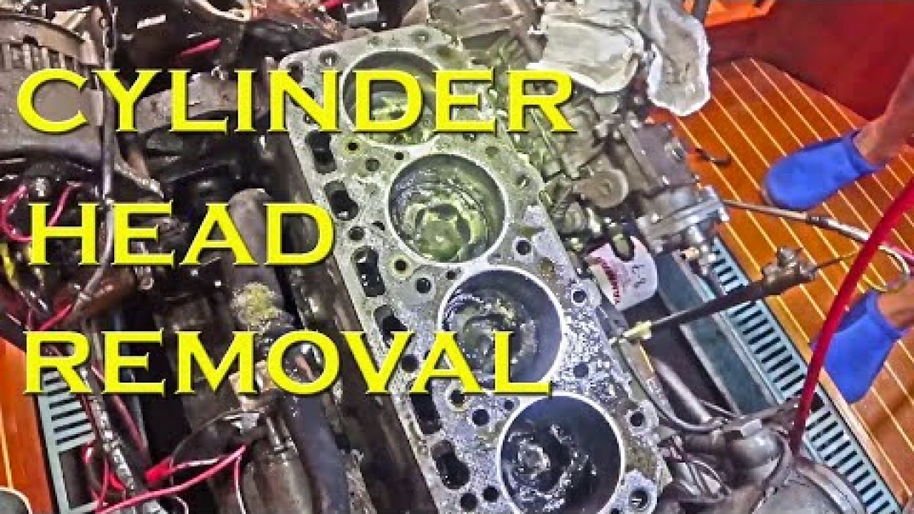 Cylinder head removal what will we find - Sailing A B Sea (Ep.148)