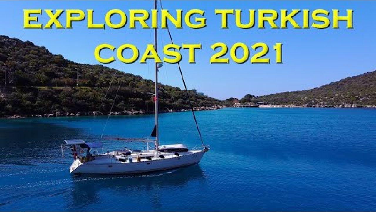 Exploring the Turkish coast 2021- Sailing A B Sea (Ep.164)