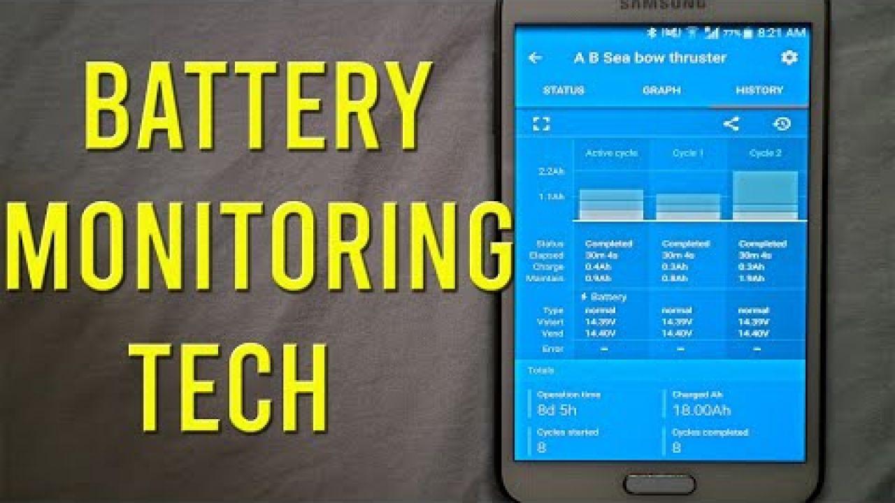 Battery monitoring made easy - Sailing A B Sea (Ep.140)