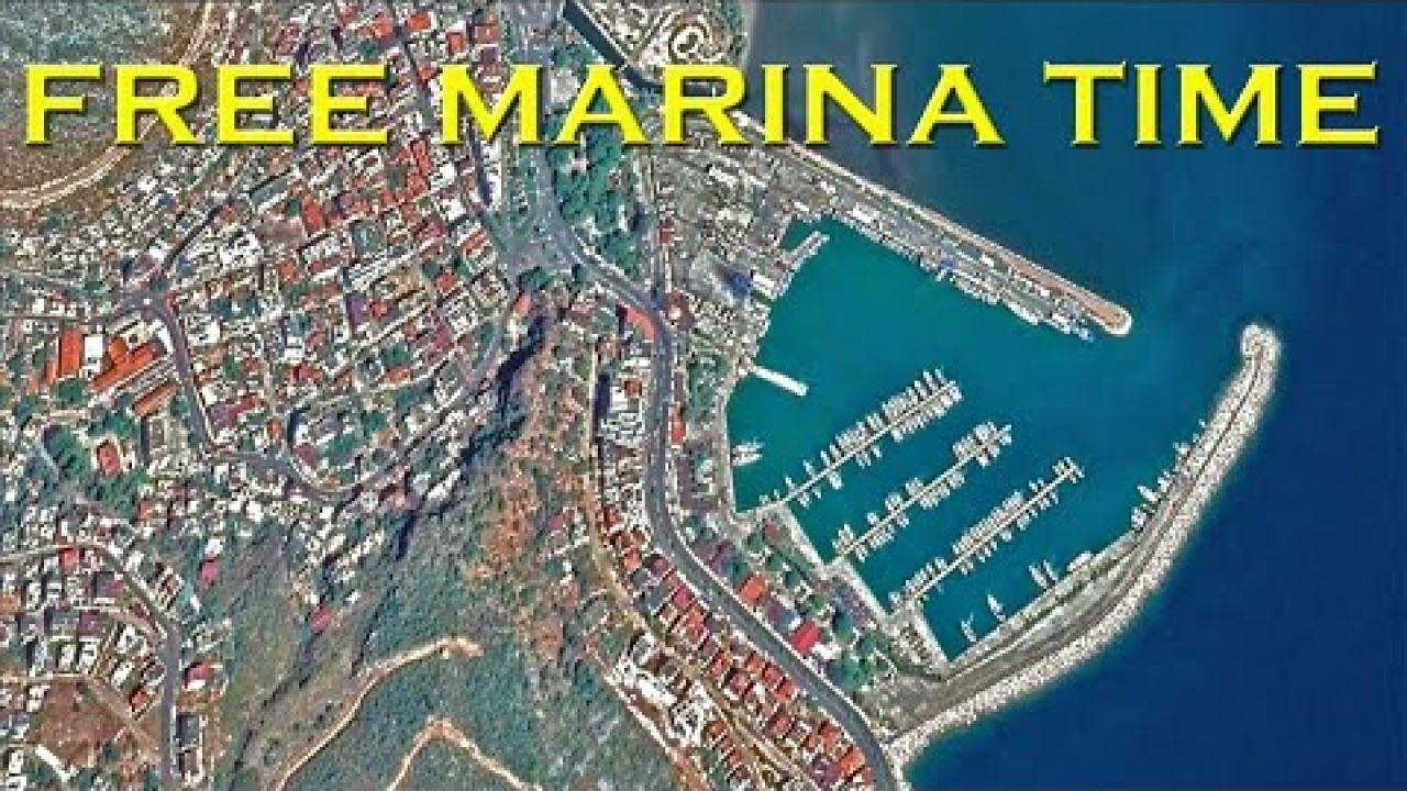 FREE berthing BONUS at Finike marina Turkey - Sailing A B Sea (Ep.160)
