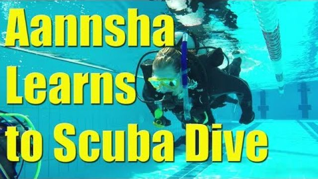 Learning how to scuba dive Aannsha conquers her biggest fear - Sailing A B Sea (Ep.004)