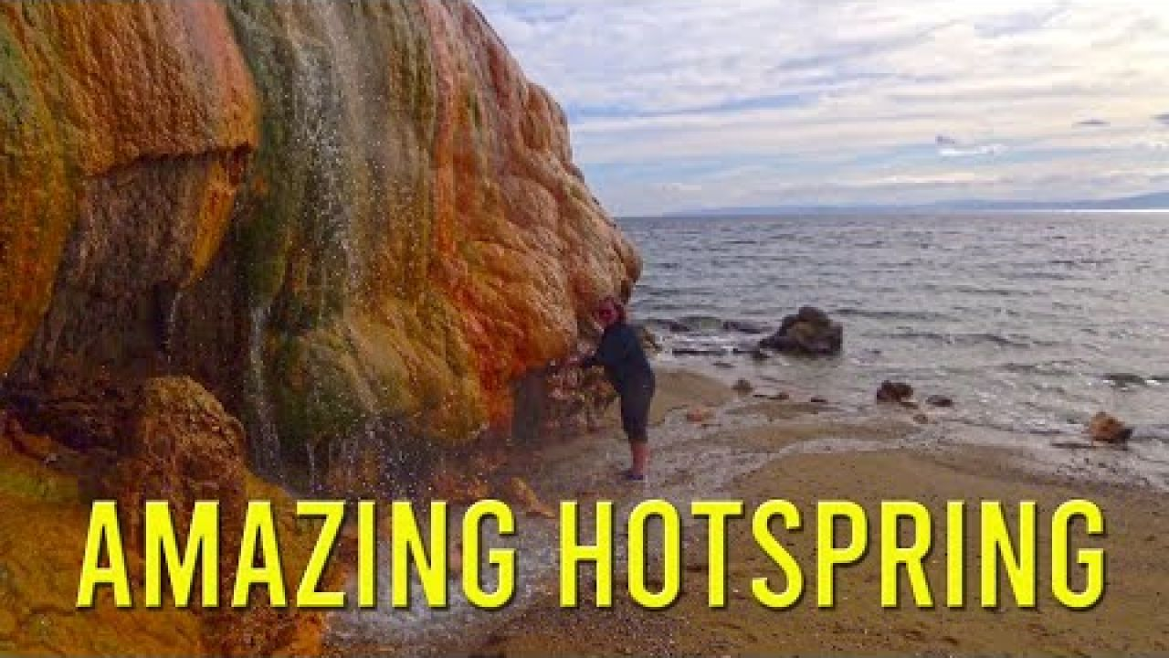 Amazing hot springs and gifts from a friend - Sailing A B Sea (Ep.108)