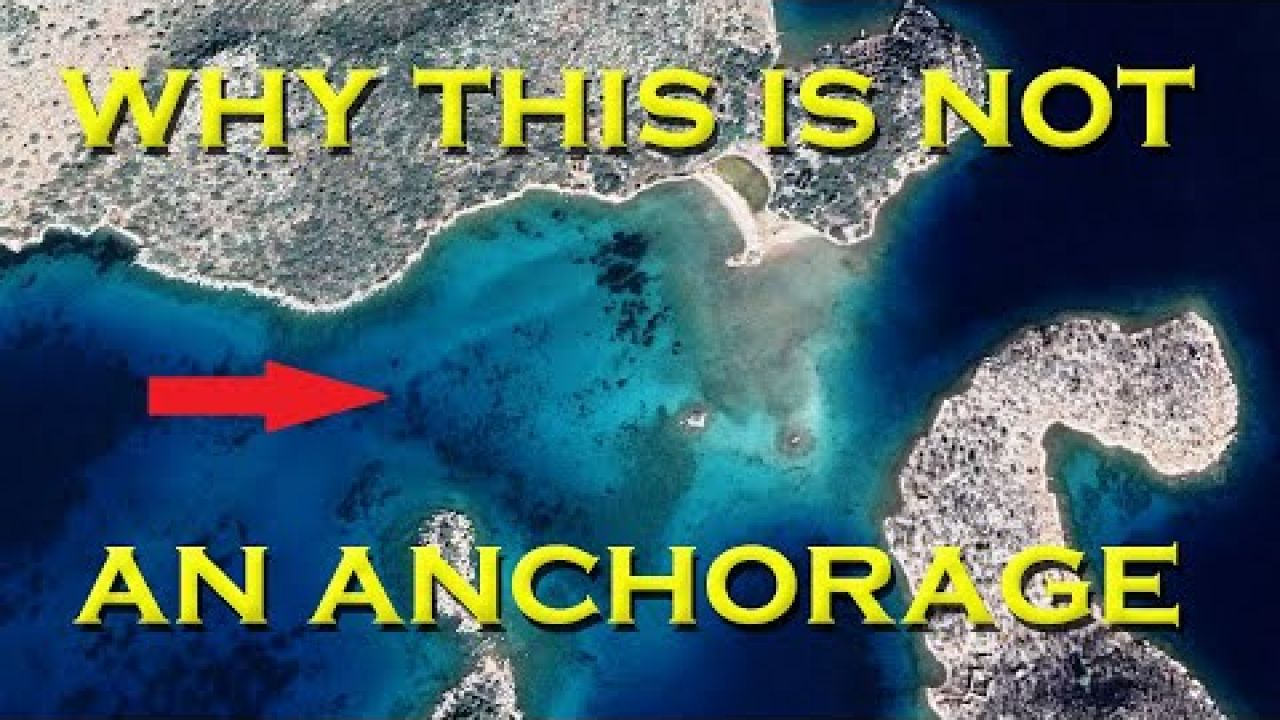 We now know why it's not a marked anchorage - Sailing A B Sea (Ep.183)