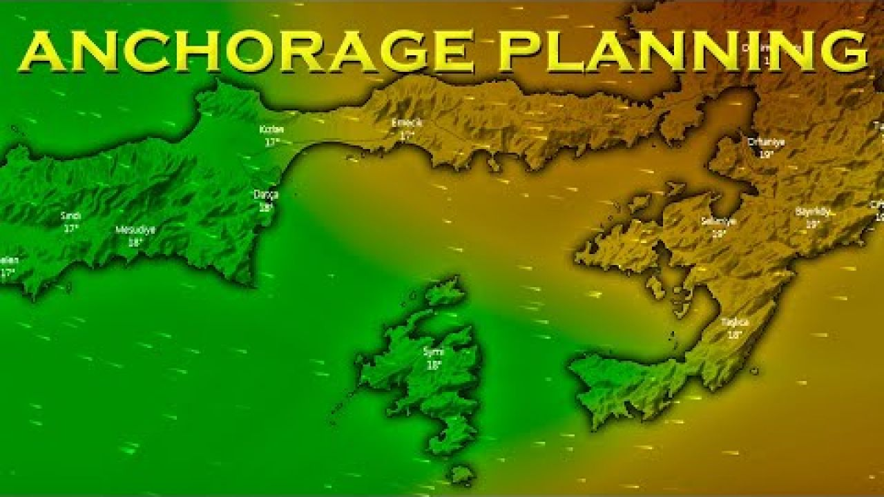 Passage planning for unsettled winds - Sailing A B Sea (Ep.166)
