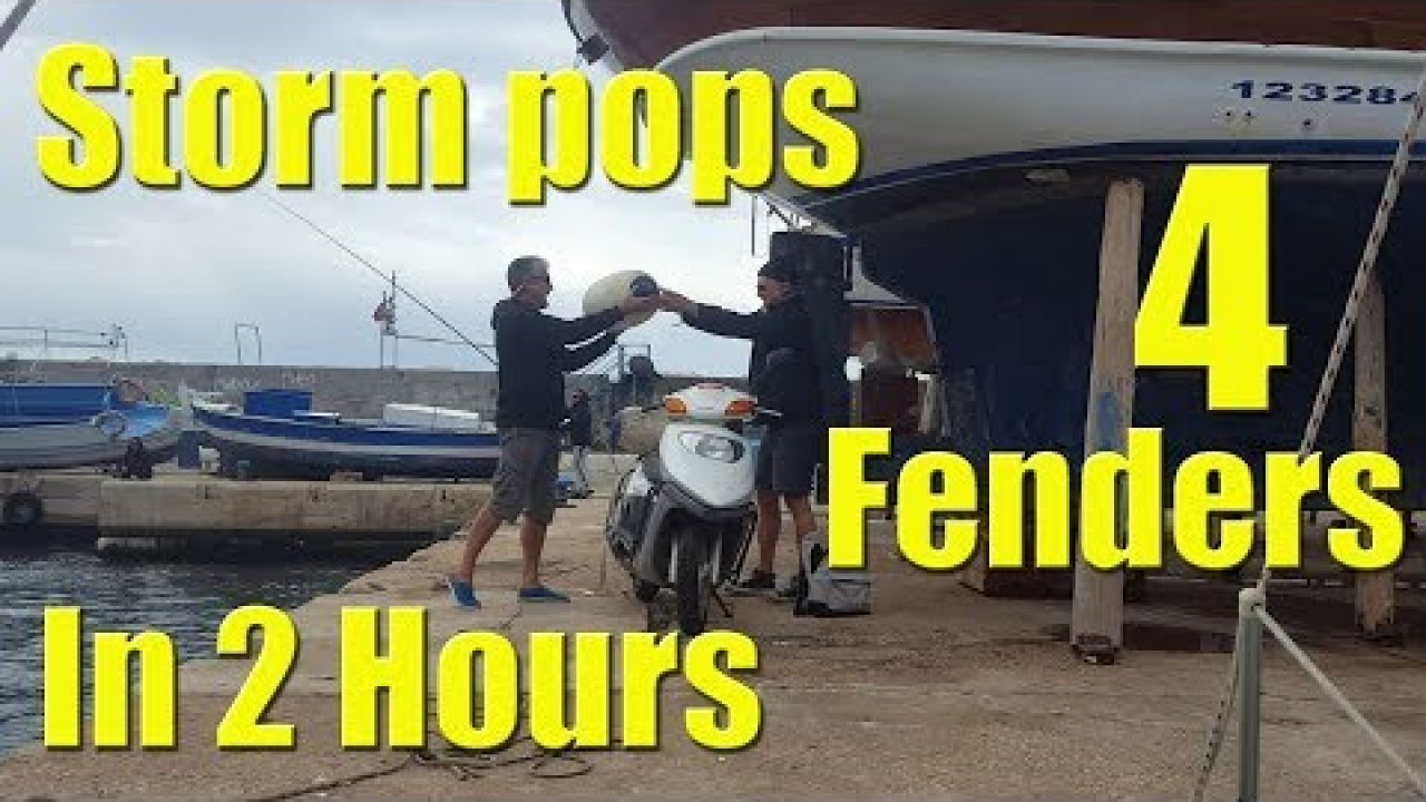We pop FOUR FENDERS in 2 HOURS - Sailing A B Sea (Ep.048)