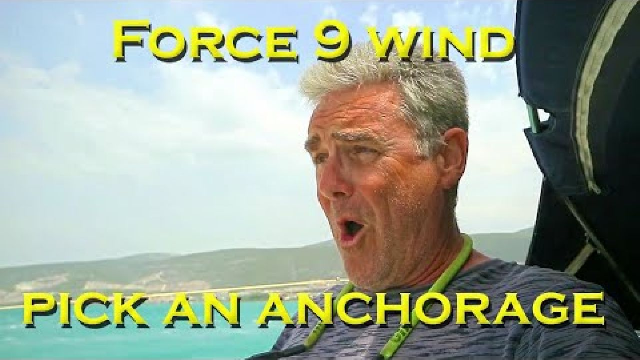 Where do we hide from FORCE 9 southern winds - Sailing A B Sea (Ep.169)
