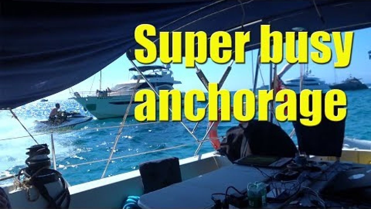 Life at anchor in Formentera Spain - Sailing A B Sea (Ep.029)