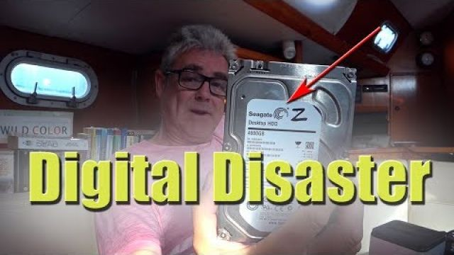 Small space storage and a digital disaster - Sailing A B Sea (Ep.016)