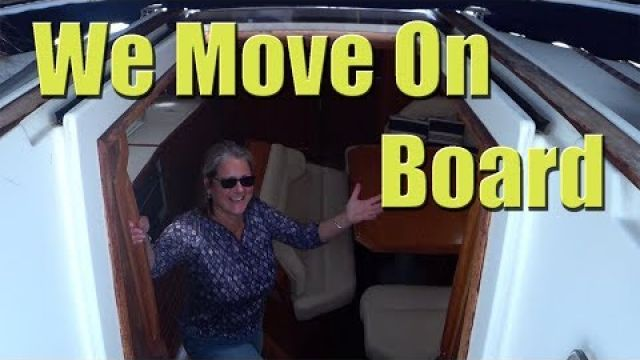Moving on board our Jeanneau Sun Odyssey 45.1 - Sailing A B Sea (Ep.013)