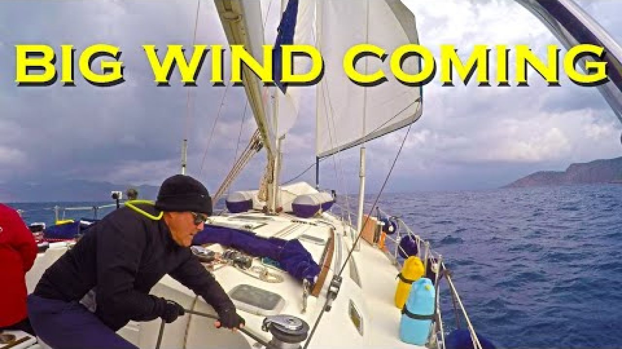 Hiding from big wind - Datca the perfect spot - Sailing A B Sea (Ep.167)