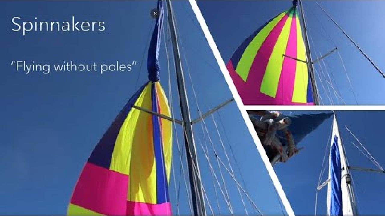 Learn how to sail with a quick 5 min ATN tacker spinnaker setup #26