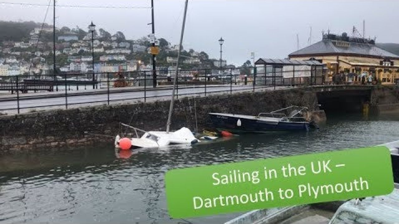Sailing the UK coast Dartmouth to Plymouth, a boat sinks and more strong winds - SV Sea Cactus