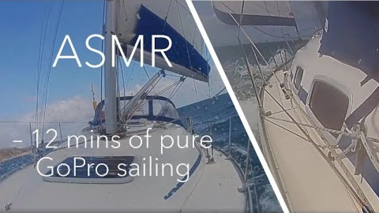 Slow Sailing TV ASMR, un edited gopro footage and 12 mins of pure sailing in a F6 with a reef #28