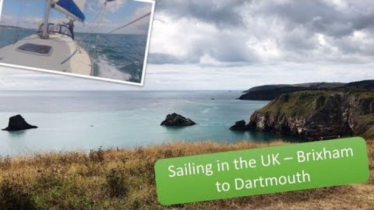 Sailing the UK south coast Brixham to Dartmouth heading west