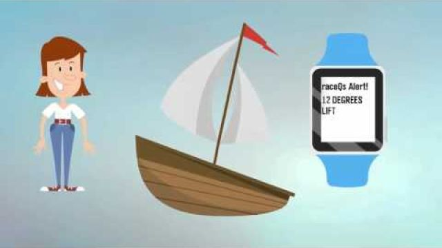 A tactical Sailing App for Pebble Smart Watch