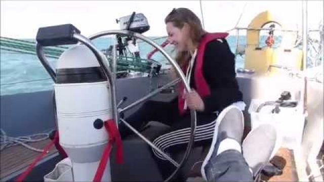 Sailing from Weymouth to Torquay- first rounding bill of Portland Ep.5 part 1