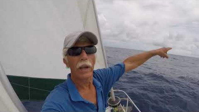 Deep Into The Indian Ocean to Chagos-- AIS, Squalls, Fuel Siphon, Poor Fishermen, video#14