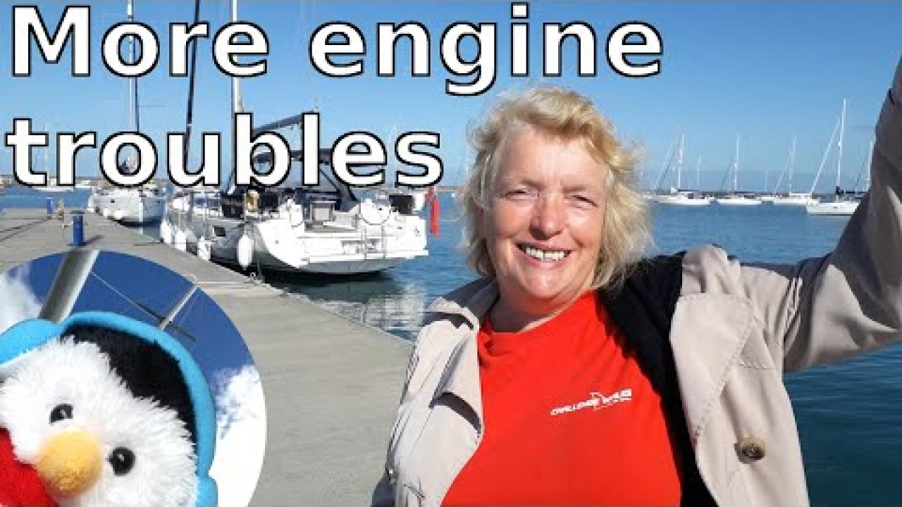 Sailboat engine problems - Volvo Penta - Sailing Wales - Holyhead - Ep. 109