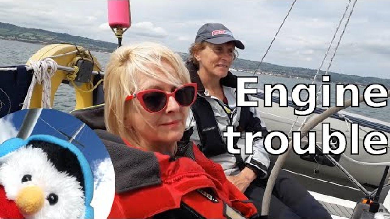 Engine troubles - Sailing Belfast Lough - Ep. 101
