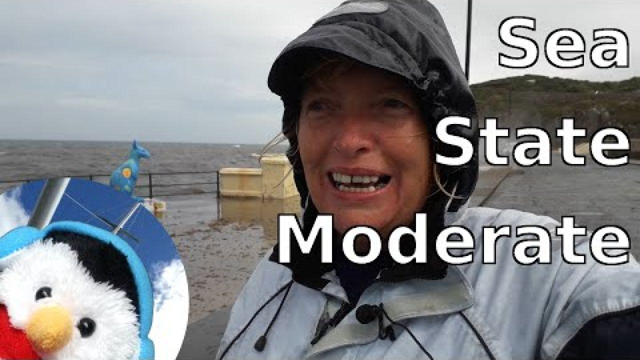 Sea state moderate - Carrickfergus to Liverpool - Ep. 103