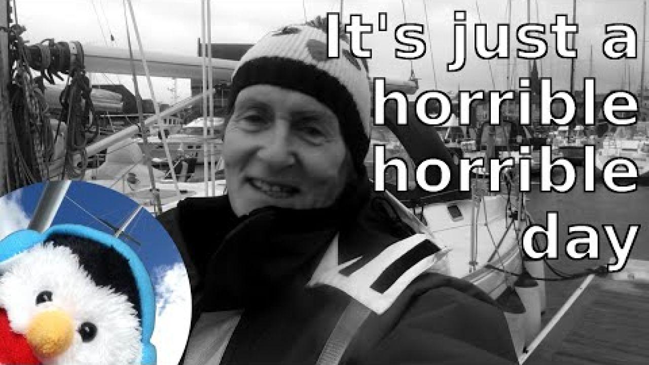 Storm Brendan - Winter Sailing - Ep. 119