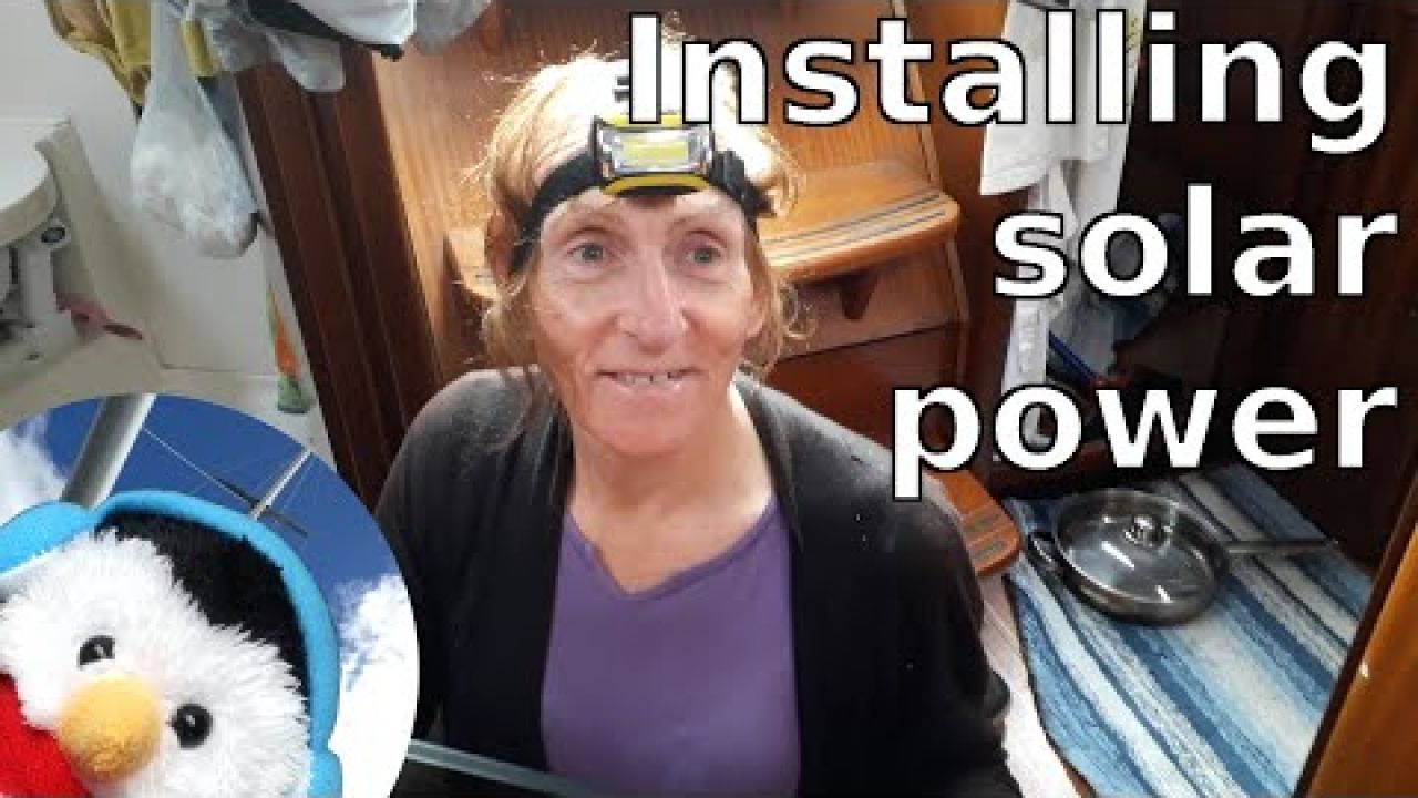 Installing solar on our boat - Sailing Wales - Liverpool to Conwy - Ep. 105