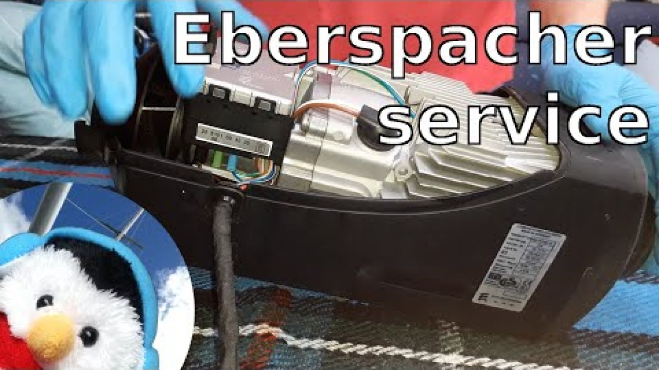 Saving money & staying warm - Servicing our Eberspacher Airtronic D4 diesel heater - Ep. 111