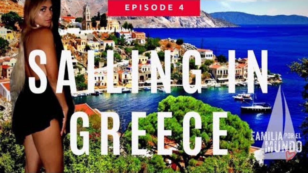 NAVEGANDO EN SYMI, GRECIA 🇬🇷/SAILING IN SYMI ,GREECE (FAMILIAPORELMUNDO Ep. 4)
