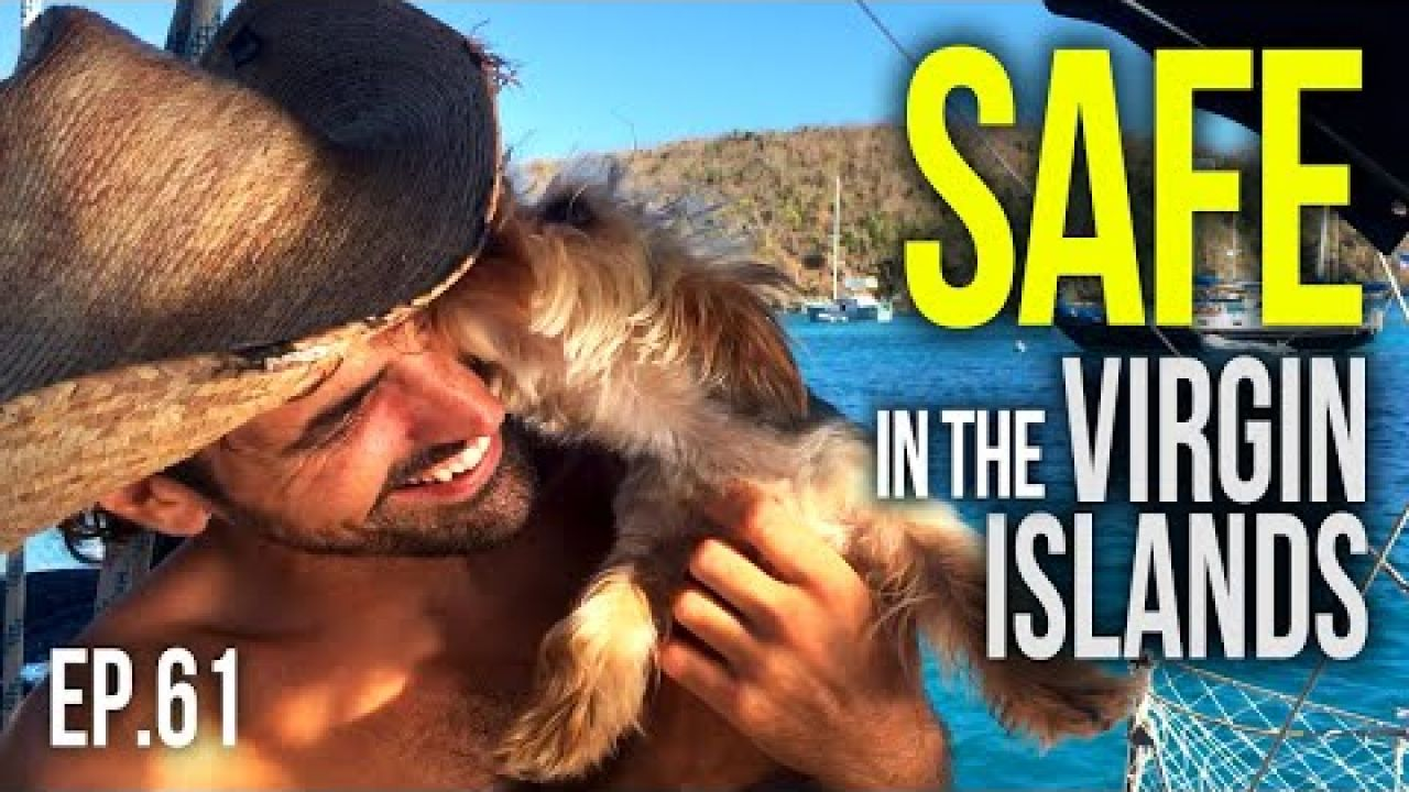 Safe in the Virgin Islands   Sailing Balachandra E061