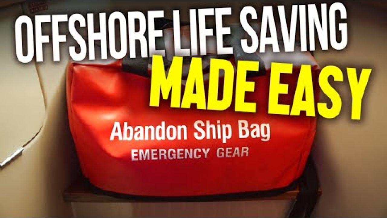 Offshore Life Saving Equipment for Long Ocean Passages Around the World | Sailing Balachandra E079