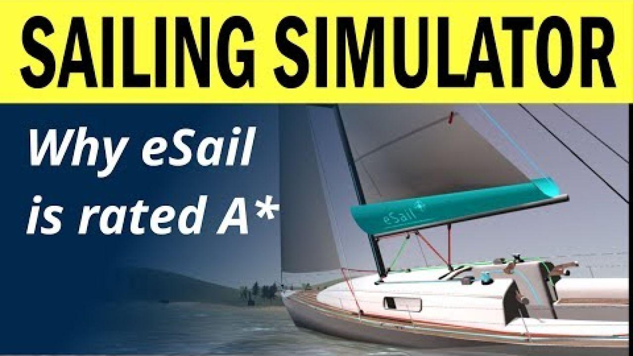 eSail - The Sailing Simulator making waves!