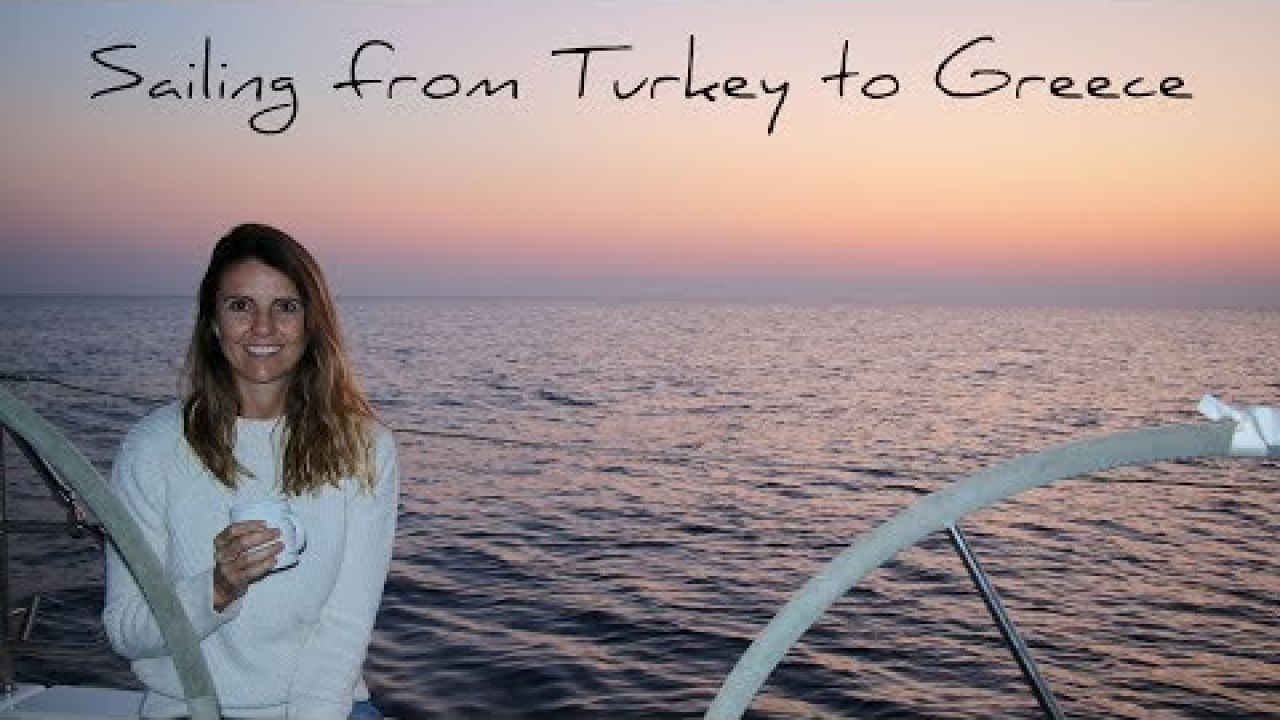 4. Sailing from Turkey to Greece | Sailing around the world | Hanse 445