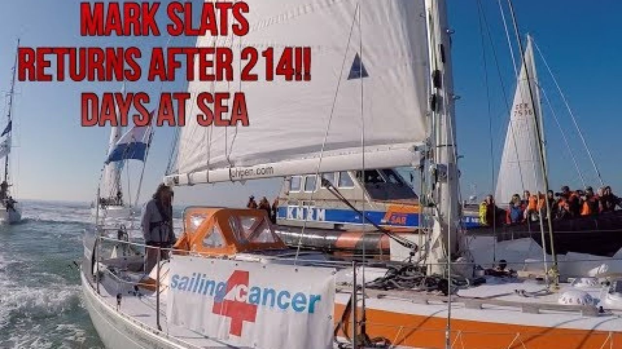 Mark Slats compilation arrival Netherlands after 214 days at sea!!