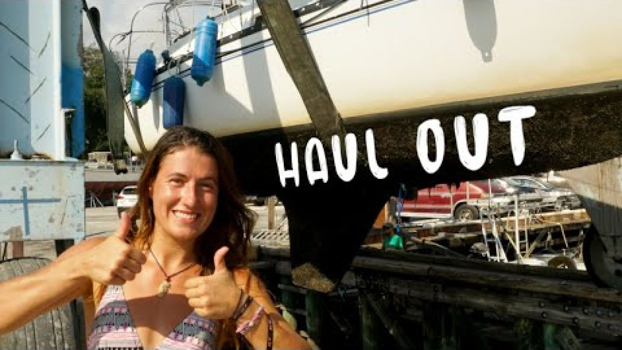 Prepping a SMALL SAILBOAT for Hurricane Season in the boat yard [Ep 151]