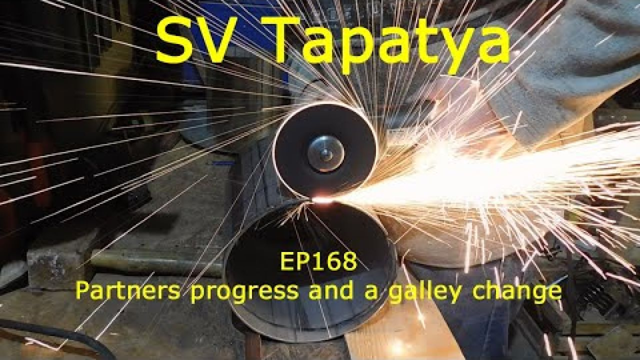 Partners progress and a galley change; Building a cruising sailboat - SV Tapatya EP168