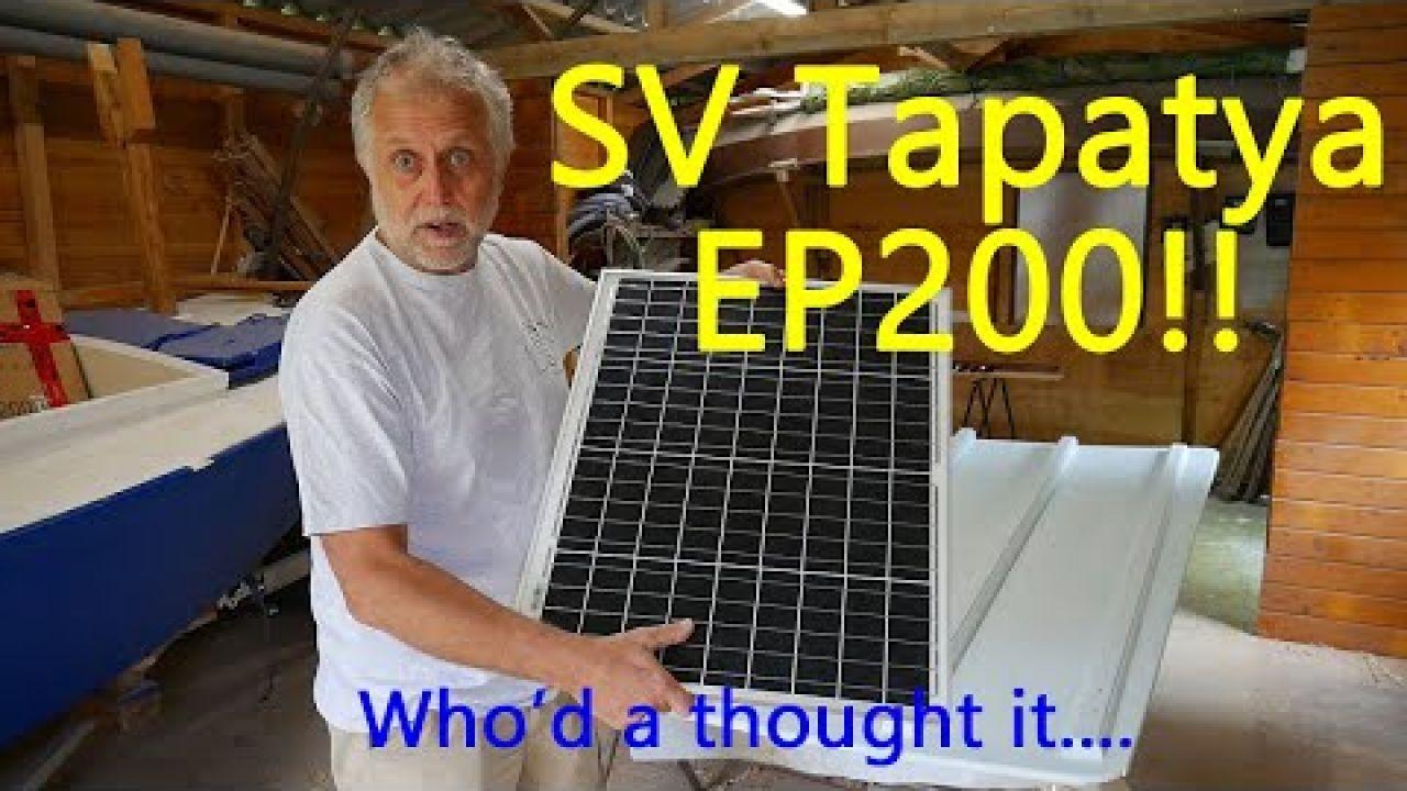 Episode 200!! Building a cruising sailboat - SV Tapatya