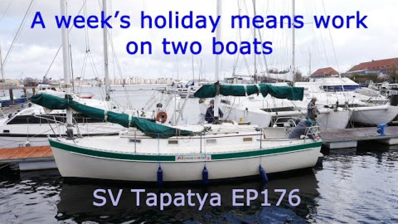 A week's holiday means work on two boats!, Building a cruising sailboat - SV Tapatya EP176