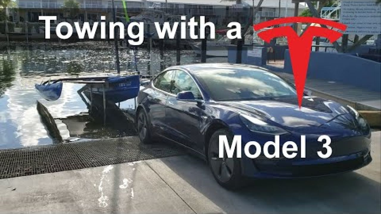 Towing with a Tesla Model 3