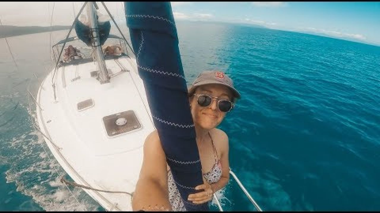 Ep. 4 Had our first sail | All Girls Sailing Trip 2 - The Sailing Yogi