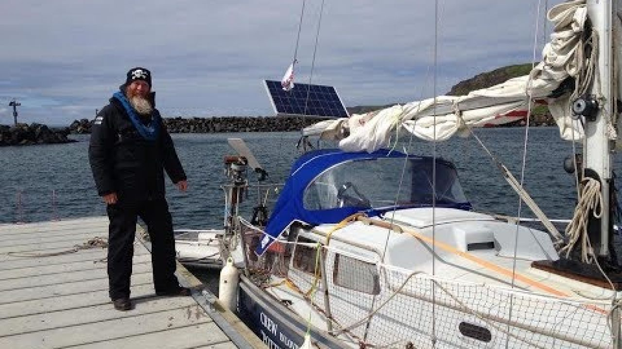 First Sailboat. The Trident 24 Rebuild